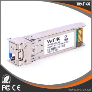SFP-10G-BX-U-40 Compatible BIDI SFP+ Optical Module Tx 1270nm/Rx 1330nm 40km LC Simplex Connector pictures & photos