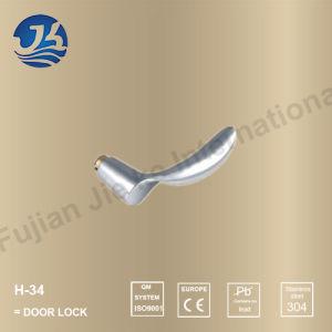 Stainless Steel 304 Simple Design Door Handle Lock (H-34)