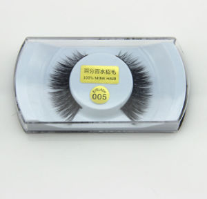 New Super Thick Long Style Natural Hair False Eyelashes Mfe1008 pictures & photos