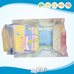 Elastic Waist Magic Tape Soft Breathable Disposable Baby Diaper pictures & photos