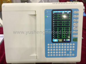 Ce Approved 12 Channel Portable Digital ECG Electrocardiogram pictures & photos