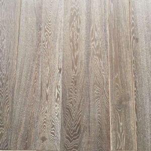 Guangzhou Supplier Antique White Oak Solid Wood Flooring