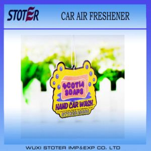 Customized Shape Car Air Fresheners with Own Logo