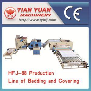 Nonwoven Quilt Making Production Line (HFJ-88) pictures & photos