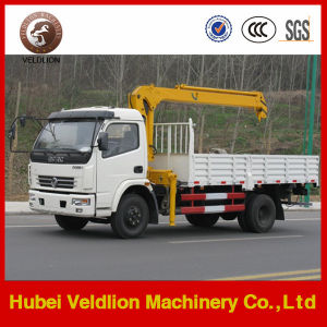 Dongfeng Mini 3-4 Tons Truck Mounted Crane pictures & photos