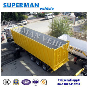 48 Cbm Coal/ Sand Tipping Cargo Transport Semi Trailer/ Tipper/Dump Trailer pictures & photos