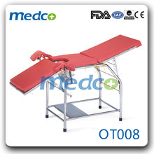 Stainless Steel Gynecology Surgical Operation Examination Table Used in Hospital pictures & photos