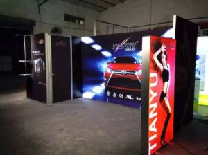 2016 Hot Sale Eye-Catching Aluminum Textile Exhibition Display pictures & photos