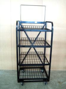 Wire Shelf Display Rack Floor Display Stand pictures & photos