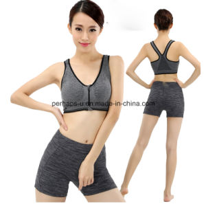 High Quality Comfortable Soft Gym Bra and Fitness Shorts pictures & photos