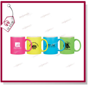 11oz Personalized Printed Colored Sublimation Fluorescence Mug pictures & photos