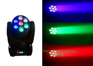LED 7PCS 12W Osram 4 in 1 Beam Moving Head Light pictures & photos