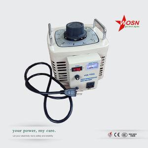 Wosn 220V Single Phase 1kVA Variable Voltage Regulator