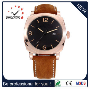 Curren Brand Leather Strap Wrist Watches for Men (DC-289) pictures & photos