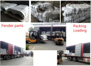 Trailer Parts Fender Trailer Mudguard Made of Steel Stamping Forming, Tandem Axle Fender pictures & photos