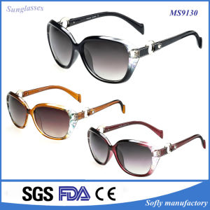 2016 Hot Selling Women Promotion Polarized Sunglasses pictures & photos