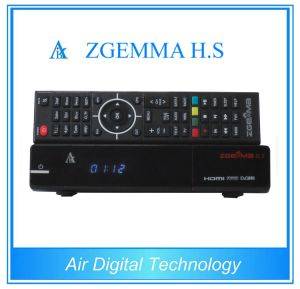 DVB S/S2 Real TV Box High CPU Running Satellite TV Receiver Zgemma H. S pictures & photos