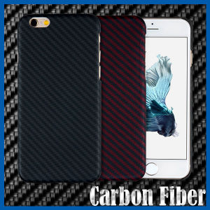 Carbon Fibre Snap-on Hard Back Case for iPhone 6 Plus pictures & photos