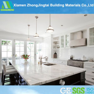 China Cream/Beige/Royal Botticino Artificial Marble for Dining Table/Floor Tiles pictures & photos