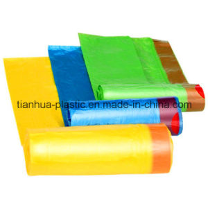 HDPE Plastic Trash\Garbage Bag with Draw String