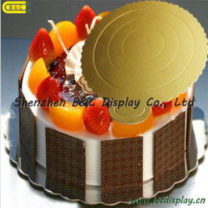 2016 Hot Selling Gold Mono Cake Pastry Tray with SGS (B&C-K023) pictures & photos