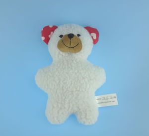 Soft Plush Pet Bear Toy with Squeaker Inside pictures & photos