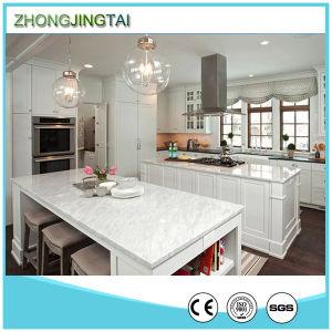 Glory Stone New Design Platinum Artificial Quartz Kitchen Countertop Price pictures & photos