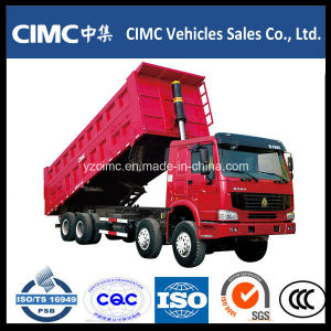 Sinotruk HOWO 8X4 336HP Ethiopia Dump Truck for Sale pictures & photos