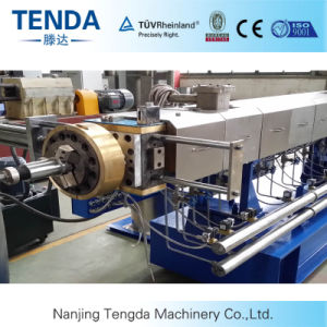 Recycling Granule Twin Screw Extruder with Convenience pictures & photos