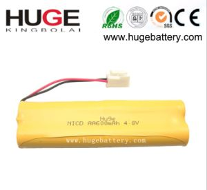 High Quality Rechargeable Ni-CD 3.6V 350mAh Battery(nickel hydride) pictures & photos