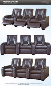 Cinema Movie & Theater Chair (T019-D) pictures & photos