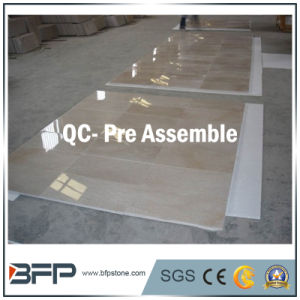 Imported Beige Marble Floor Tile for Hotel Flooring/Lobby/Wall pictures & photos