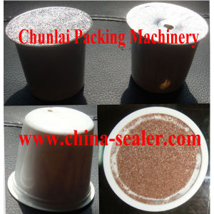 Ms-1 Coffee Capsule Filling and Sealing Machine pictures & photos