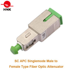 1~30dB Sc/APC Singlemode Male to Female Plug Type Attenuator pictures & photos