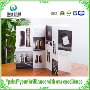 Fancy Paper Printing Saddle Stitching Brochures (Sound System) pictures & photos