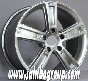 F1037 Hot Sale Vacuum Chrome Replica Alloy Wheels pictures & photos