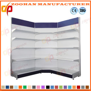 Single Side Punch Back Board Supermarket Display Shelf (Zhs649) pictures & photos