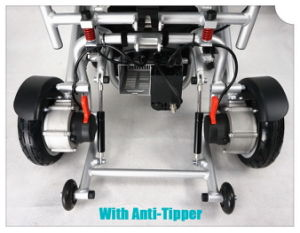 Tiny 4 Foldable and Portable Power Wheelchair pictures & photos