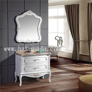 PVC Bathroom Cabinet/PVC Bathroom Vanity (KD-6005) pictures & photos