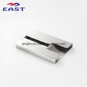 Whlesale Zinc Alloy Metal Black Name Card Holder pictures & photos