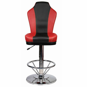 New Height Adjustable Casino Gamble Chair with Round Base (FS-G8019H) pictures & photos