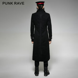 Y-713 Punk Rave Uniform Impact Long Irregular Western Wool Coat pictures & photos
