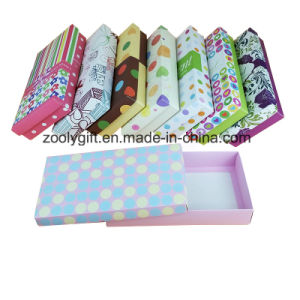Custom Printing Paper Underwear Gift Box / Underclothes Cardboard Paper Packing Box pictures & photos