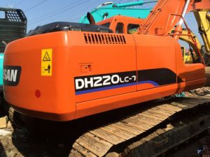 Used Doosan Dh220LC-7 Excavator, Used Hydraulic Excavator, Secondhand Crawler Excavator pictures & photos