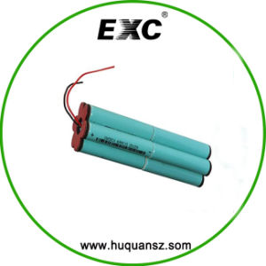 Battery 1s6p 18650 Li-ion Battery Pack 3.7V 12000mAh pictures & photos