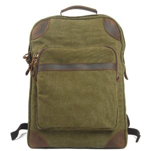 Student Canvas Packback Camping Bacpack (RS6905B) pictures & photos