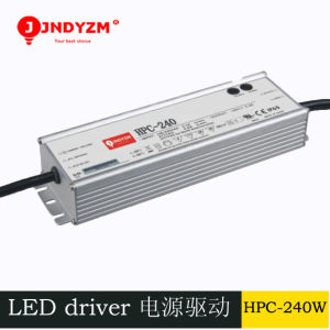 Universal High Power 48V 240W LED Driver with Ce RoHS