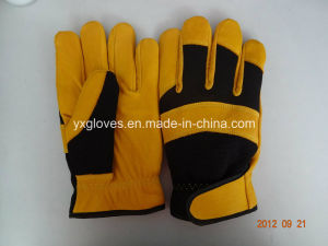 Winter Glove-Safety Glove-Work Glove-Cow Leather Glove-Leather Working Glove pictures & photos
