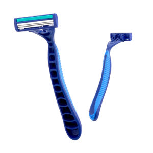 Super Quality Triple Blade Popular Packing Stainless Steel Disposable Razor (JG-SK04) pictures & photos