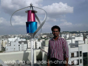 400W24V Wind Generator Turbine off-Grid System on The Roof (200W-5KW) pictures & photos